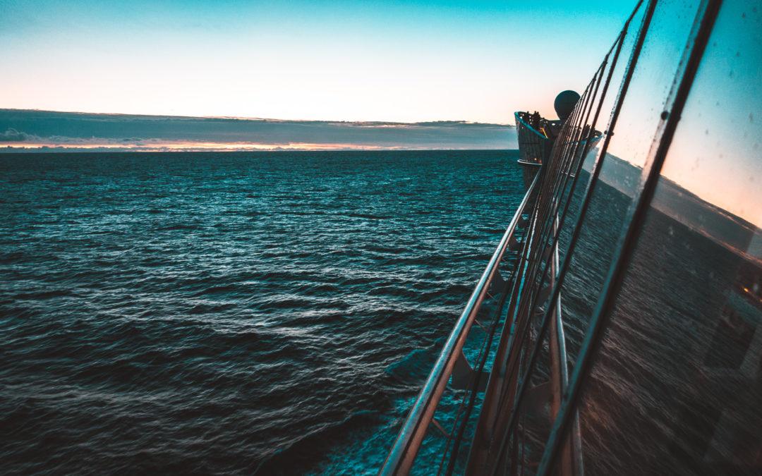 2 Tag – Erster Seetag (Auf dem Weg nach Bergen)